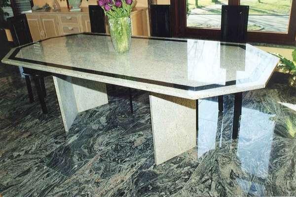 table et cuisine en granit marbrerie lesaffre bernard. Black Bedroom Furniture Sets. Home Design Ideas