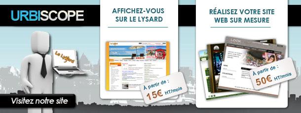 urbiscope site web e-commerce annuaire publicit� communication agence